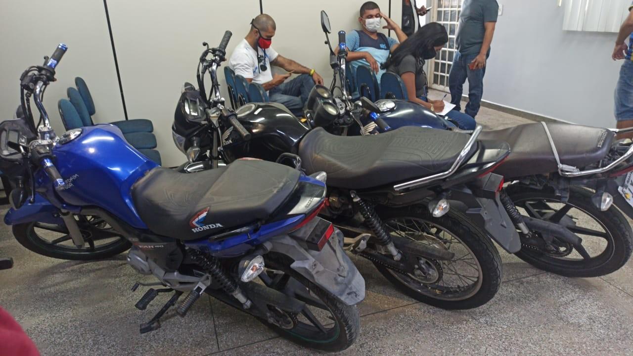 Quadrilha é presa por roubos, furtos e clonagem de motocicletas em Manaus