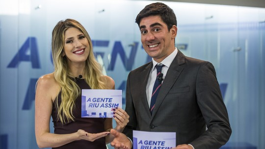 Adnet e Dani Calabresa comentam parceria em 'A Gente Riu Assim'