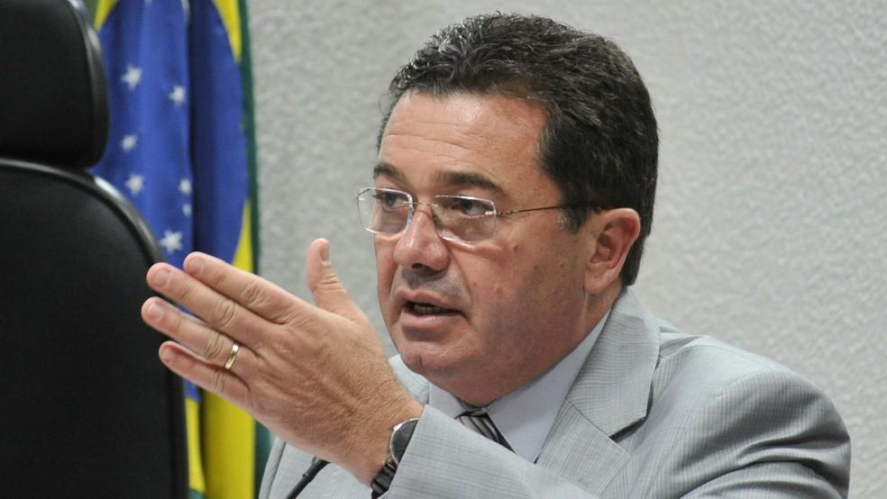 Vital do Rêgo Filho foi presidente da CPI da Petrobras no Senado — Foto: Geraldo Magela/Agência Senado