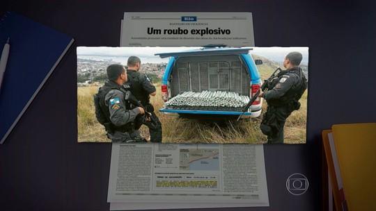 Sucessor de Playboy é suspeito de ligação com roubo de dinamite no Rio