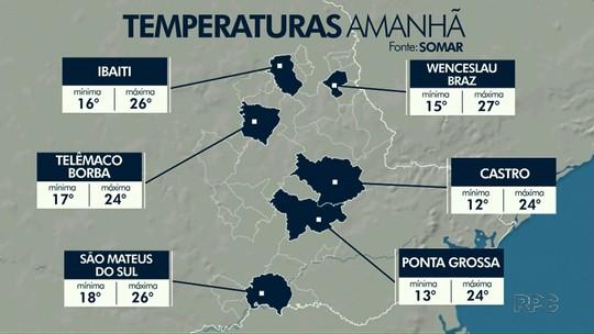 Sexta-feira Santa vai ser de tempo aberto e calor em Ponta Grossa e região