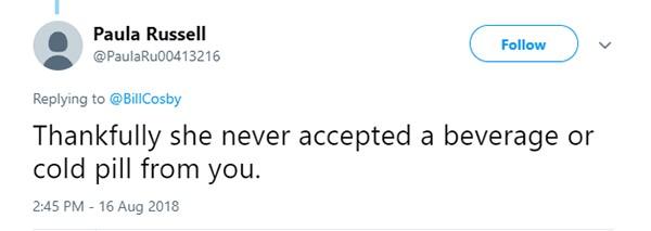 Críticas a Bill Cosby (Foto: Twitter)