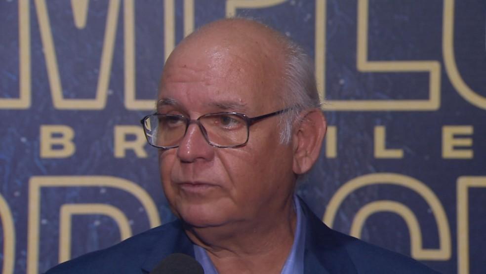 Romildo Bolzan Júnior participou do prêmio Melhores do Brasileirão — Foto: Reprodução