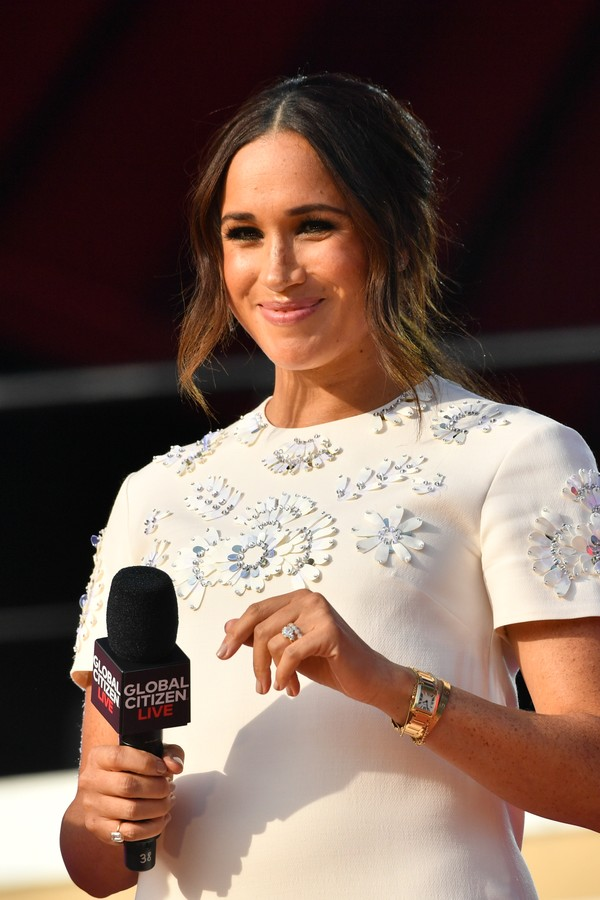 NEW YORK, NY - SEPTEMBER 25:  Meghan Markle at Global Citizen Live on September 25, 2021 in New York City.  (Photo by NDZ/Star Max/GC Images) (Foto: GC Images)
