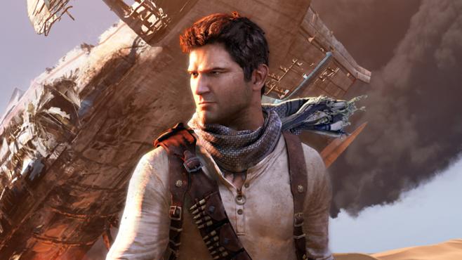 O personagem Nathan Drake do game Uncharted (Foto: Reprodução)