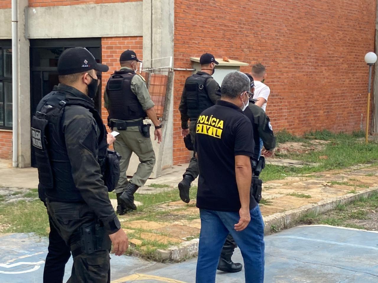 Acusado de roubo é preso enquanto fazia Enem em Teresina; polícia cumpriu a mandado de prisão