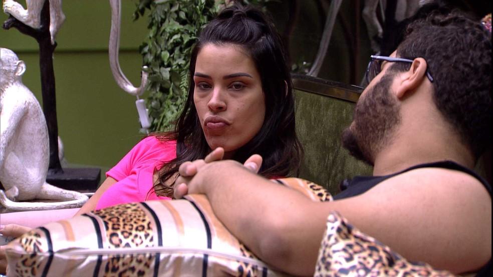 Ivy revela: 'Se eu pegar o Anjo, é fato que eu dou para o Daniel' — Foto: Globo