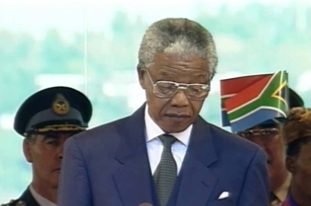 Nelson Mandela (Foto: Reprodução de TV)