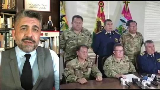Presidente interina autoproclamada aproxima governo de ala militar