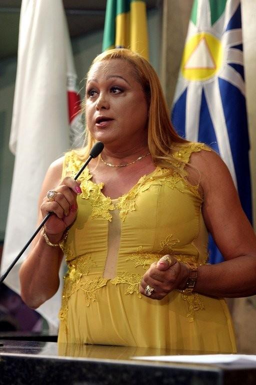 Pâmela Volp é a primeira vereadora afastada de Uberlândia a comparecer à audiência em processo de cassação