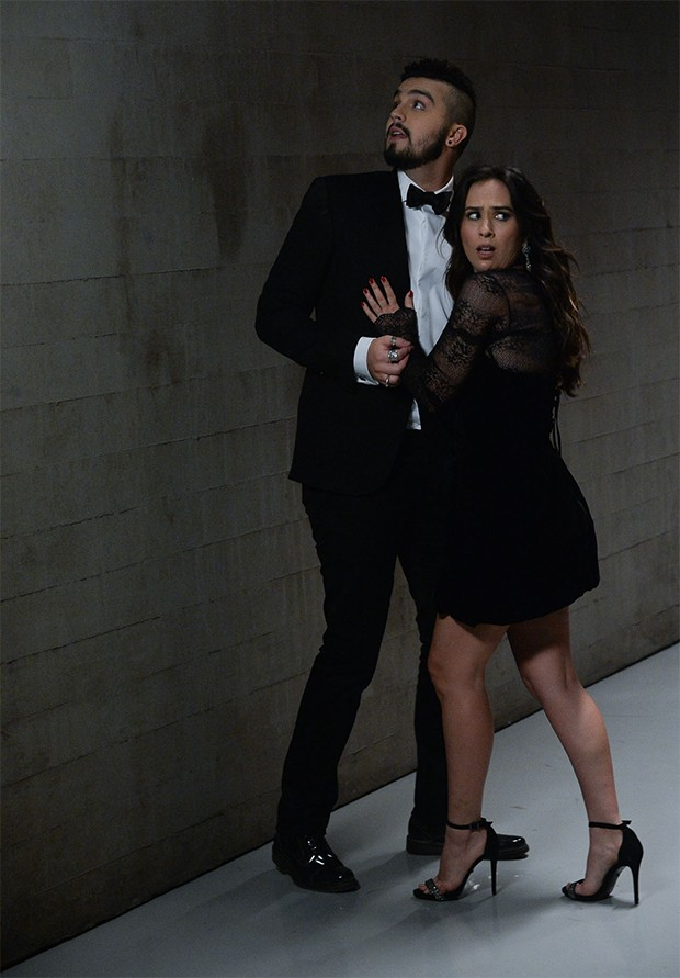 Luan Santana e Tatá Werneck (Foto: AgNews)