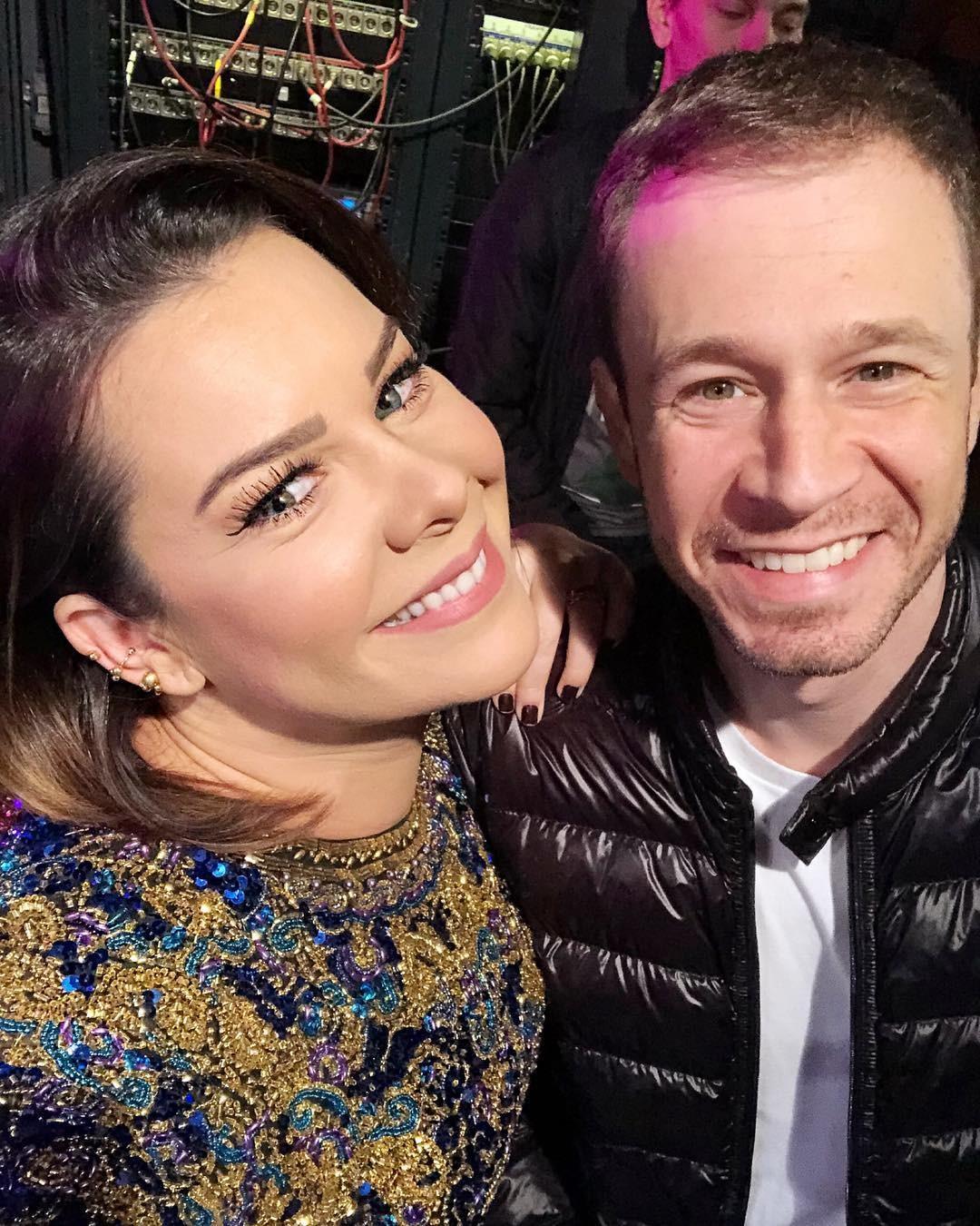 Fernanda Souza e Tiago Leifert (Foto: Reprodução Instagram)