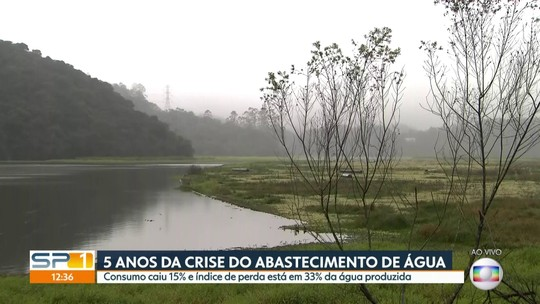 Cinco anos após a crise hídrica, consumo de água em SP cai 15%