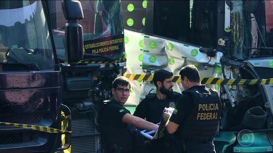 PF prende 32 pessoas que faziam parte de uma quadrilha especializada em roubo de cargas