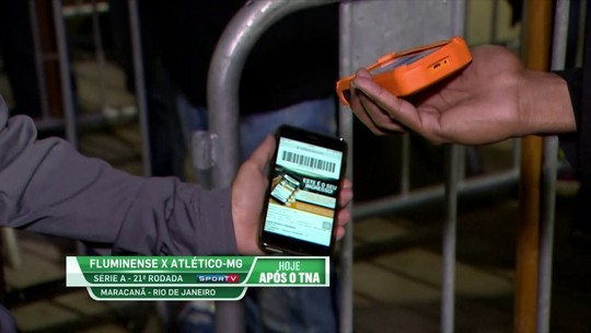 "Fluminense testa sistema de ""leitura"" dos ingressos através do celular"