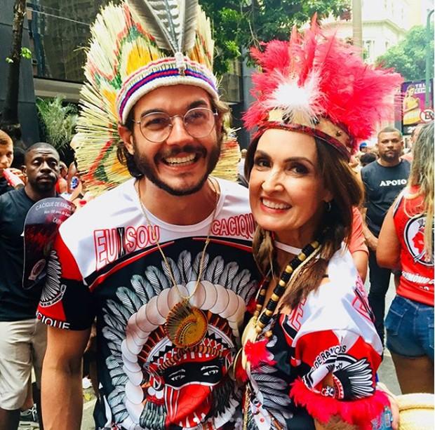 Tulio Gadelha e Fátima Bernardes  (Foto: reprodução / Instagram)