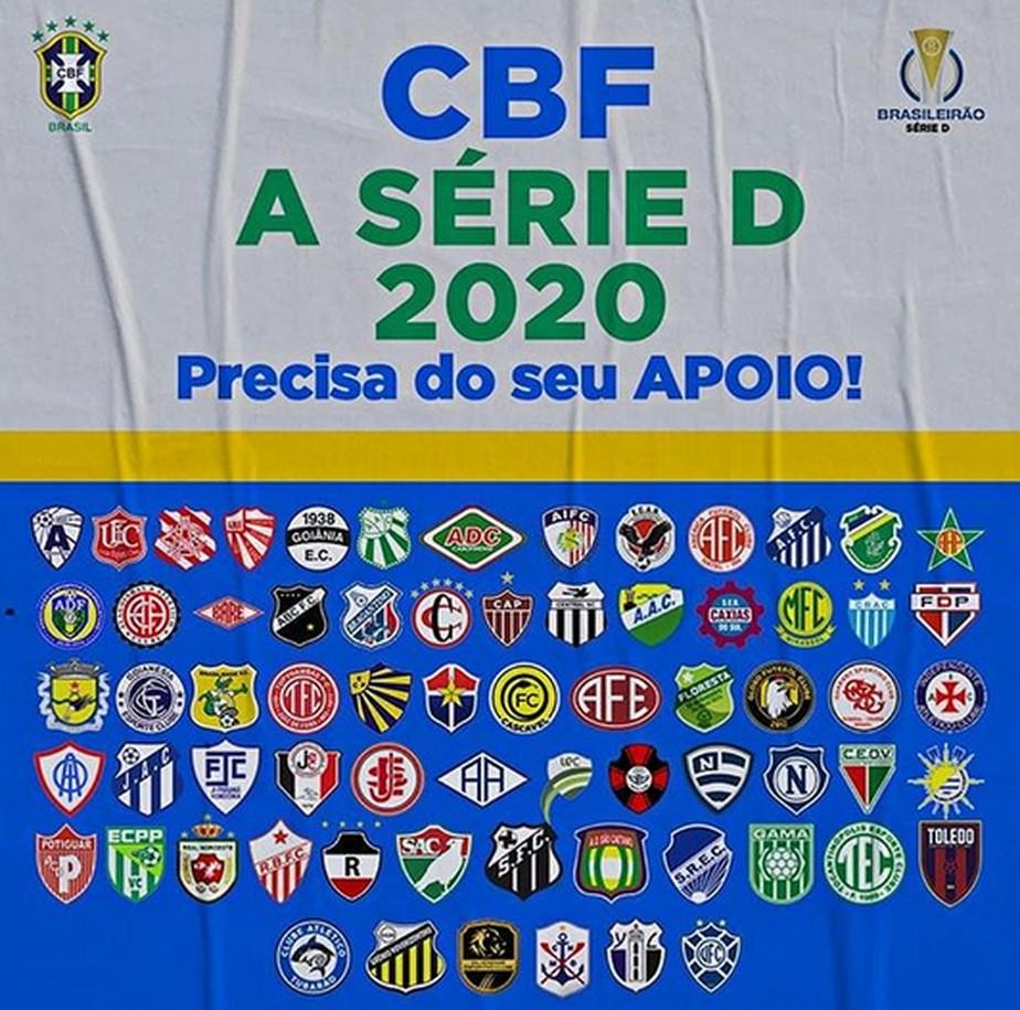 Apos Manifesto A Cbf Goleiro Vibra Com Cota De R 8 1 Milhoes Aos Times Da Serie D E Inedito Brasileirao Serie D Ge