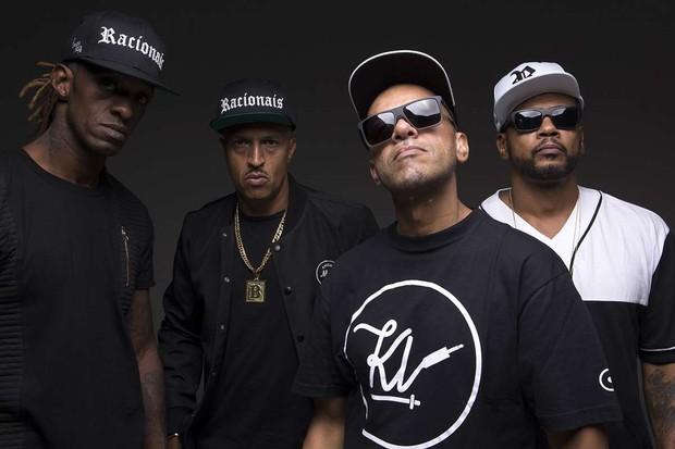 Ice Blue, Mano Brown, Kl Jay e Edi Rock: os Racionais MC's (Foto: reprodução)