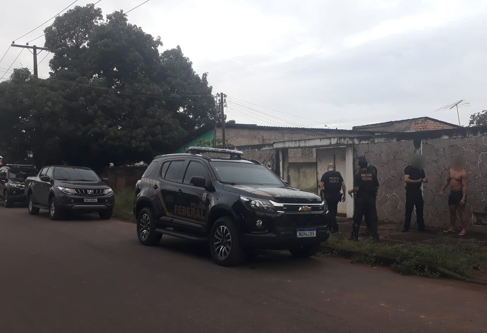 Polícia Federal cumpriu mandados de busca e apreensão e prisão em Praia Grande — Foto: Divulgação/Polícia Federal