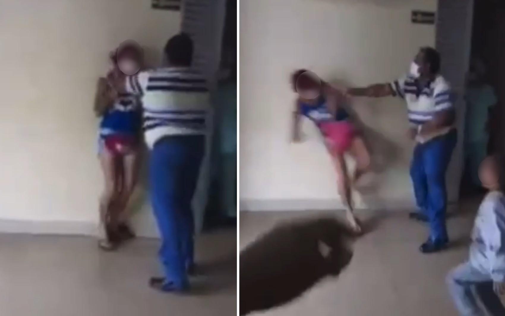 Mulher é agredida por porteiro em hospital de Itumbiara; vídeo