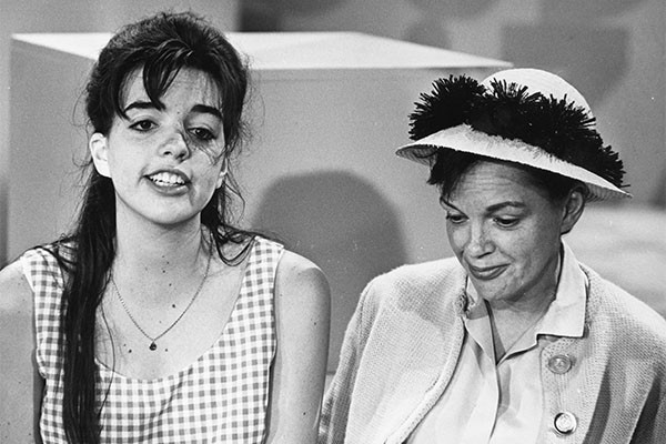 Liza Minnelli e Judy Garland (Foto: Getty Images)