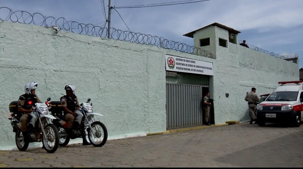 Detentos de São Lourenço (MG) prestam Enem e vão ingressar em faculdade — Foto: Reprodução/EPTV