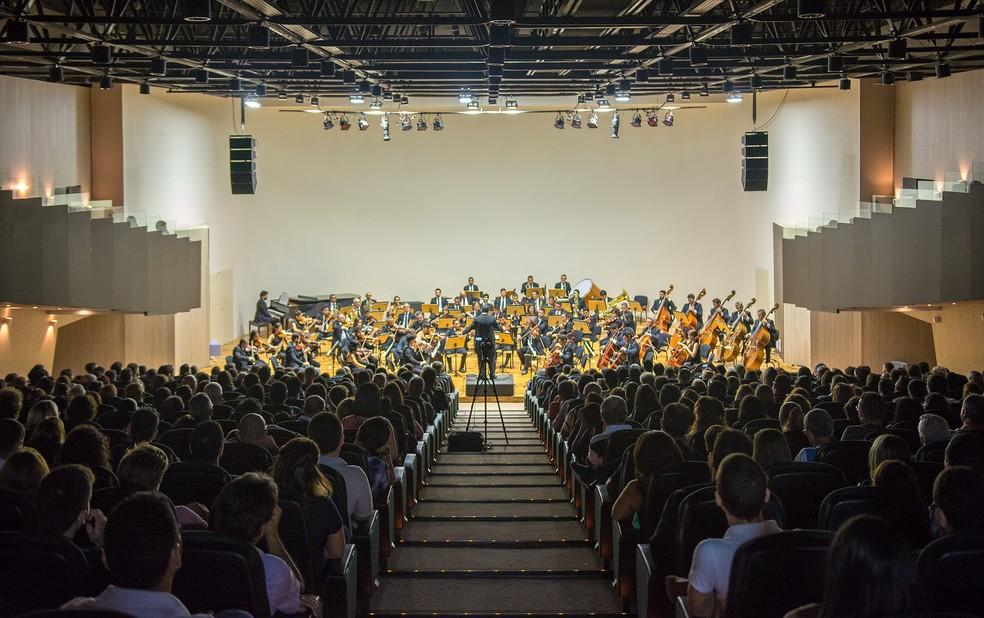 Orquestra Sinfônica da Paraíba faz concerto em João Pessoa com Radegundis Tavares (Foto: Thercles Silva/Secom-PB/Arquivo)