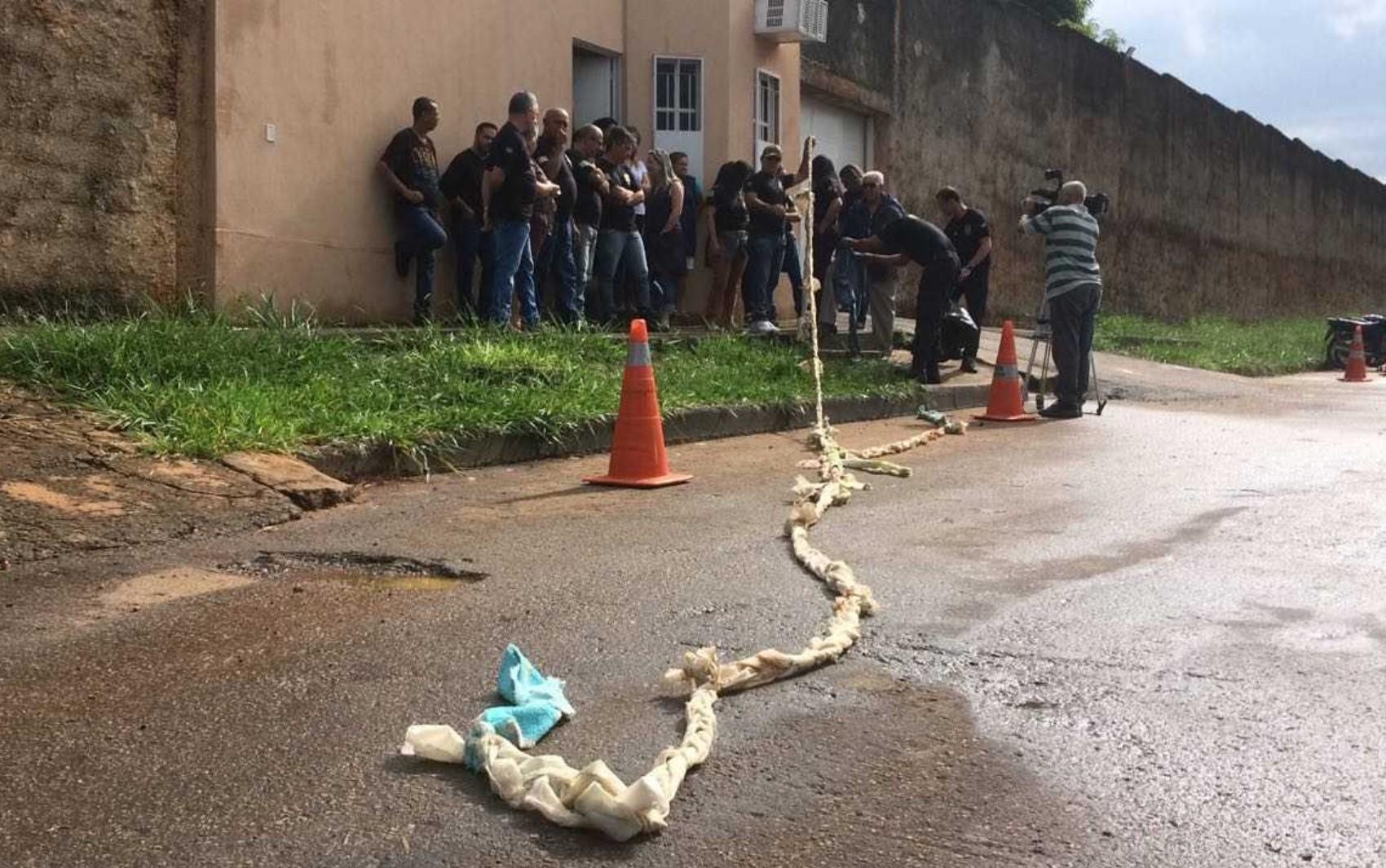 Menor que matou policial do DF em padaria está entre fugitivos de centro de internação de Goiânia