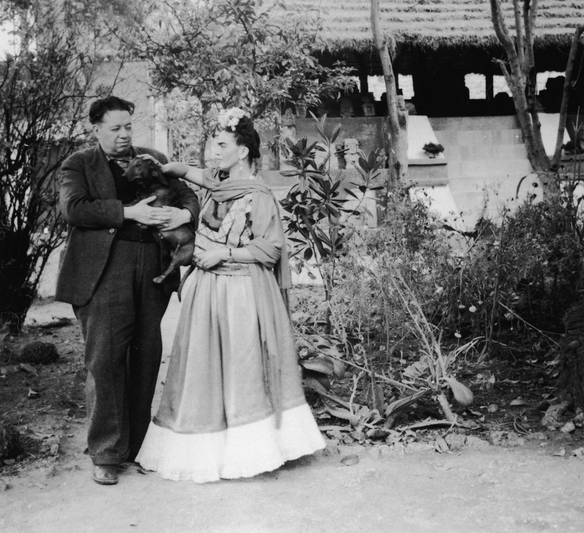 Diego Rivera e Frida Kahlo  (Foto: Getty Images)