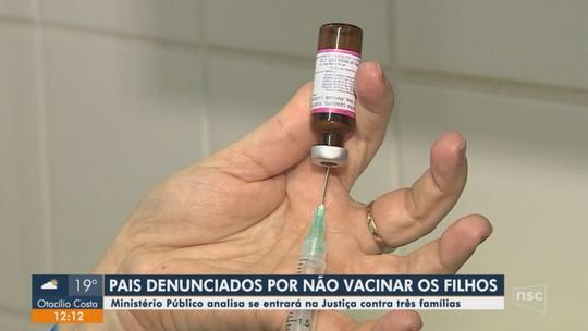 MP analisa casos de famílias de Florianópolis que negam vacinar filhos contra sarampo
