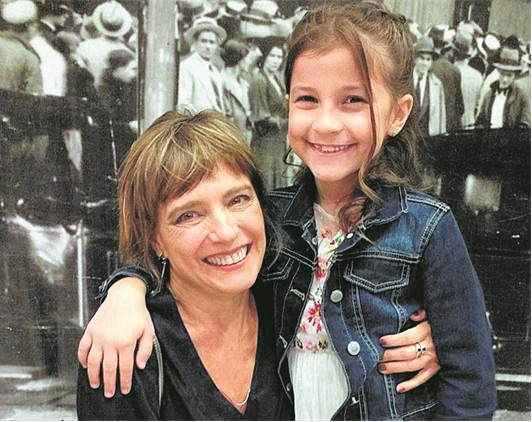 Cristina Bethencourt e Maria Carolina Basílio (Foto: Arquivo pessoal)