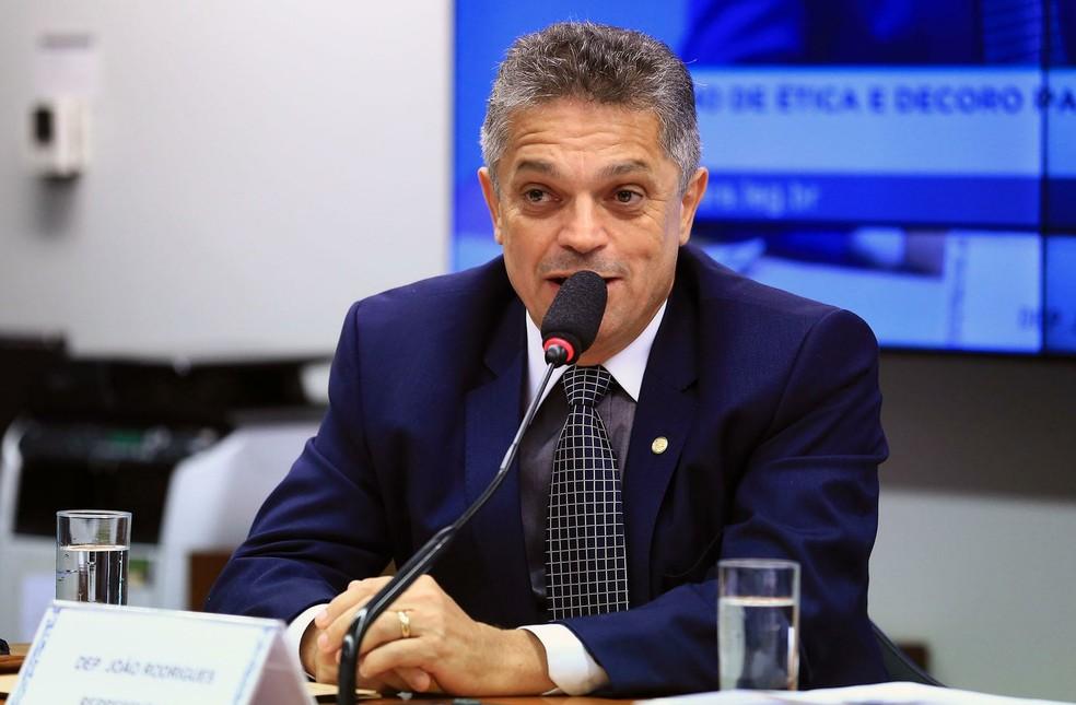 Deputado João Rodrigues (PSD) — Foto: Alex Ferreira/Câmara dos Deputados
