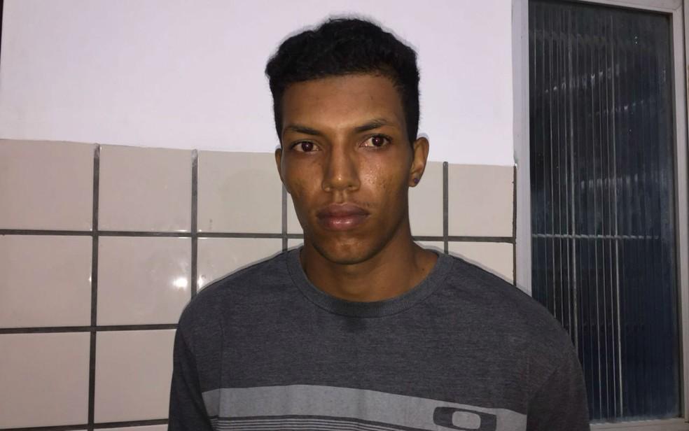 Jovem é preso em flagrante por estuprar enteada de seis anos no sul da Bahia (Foto: Liberdade News)