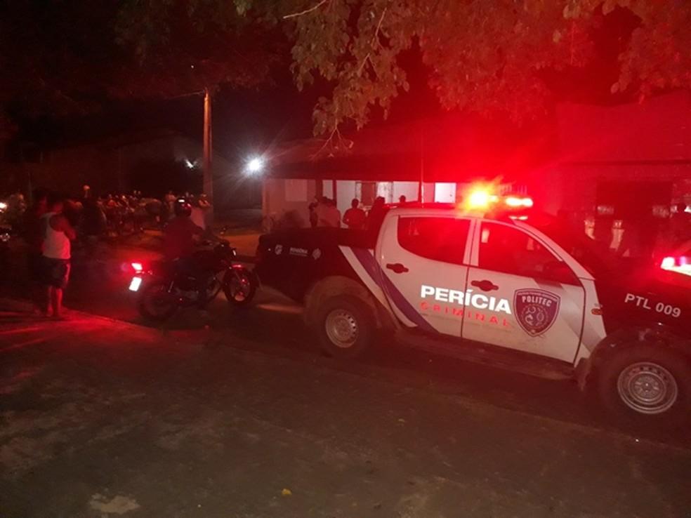 O homicídio aconteceu por volta das 19h na casa da vítima (Foto: Whatsapp/Reprodução)