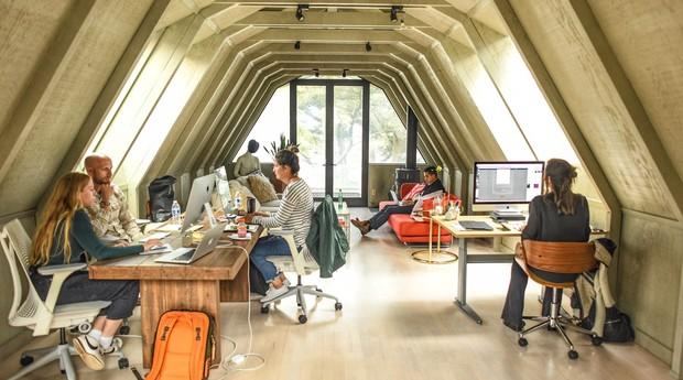 Escritório da Babel Ventures no Vale do Silício (Foto: Divulgação)