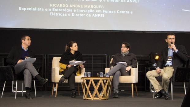 Painel na Conferência de Inovação Anpei 2018 defende importância de inovação no Brasil (Foto: Divulgação)