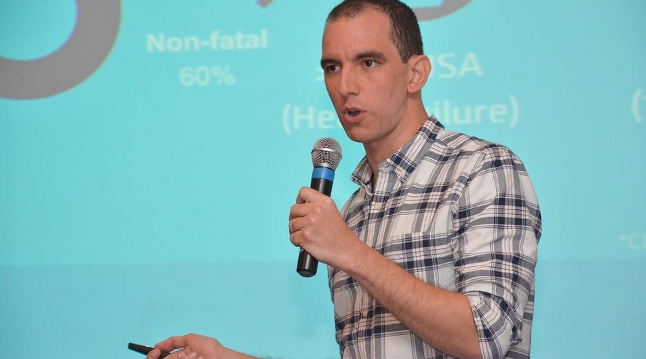 Marcos Valadares, fundador da Pluricell, startup vencedora do Start Jerusalem Brasil 2018 (Foto: Divulgação/Chico Rosa)