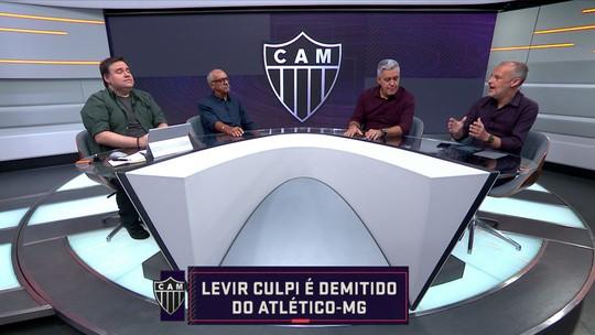 Comentaristas debatem sobre a demissão de Levir Culpi, ex-técnico do Atlético-MG