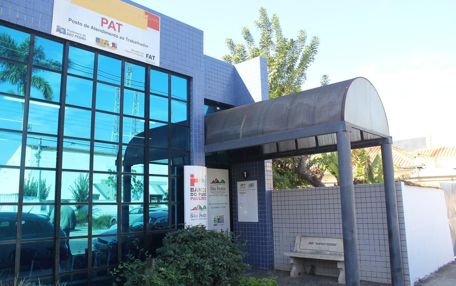 PAT de São Pedro oferece vagas de emprego com salários de até R$ 4 mil