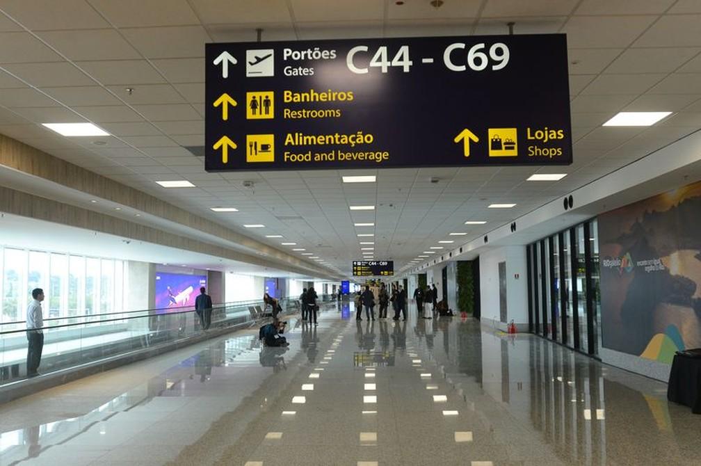 Aeroporto do Galeão, no Rio de Janeiro (Foto: Agência Brasil)