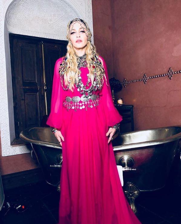 Madonna veste Gucci (Foto: Divulgação)