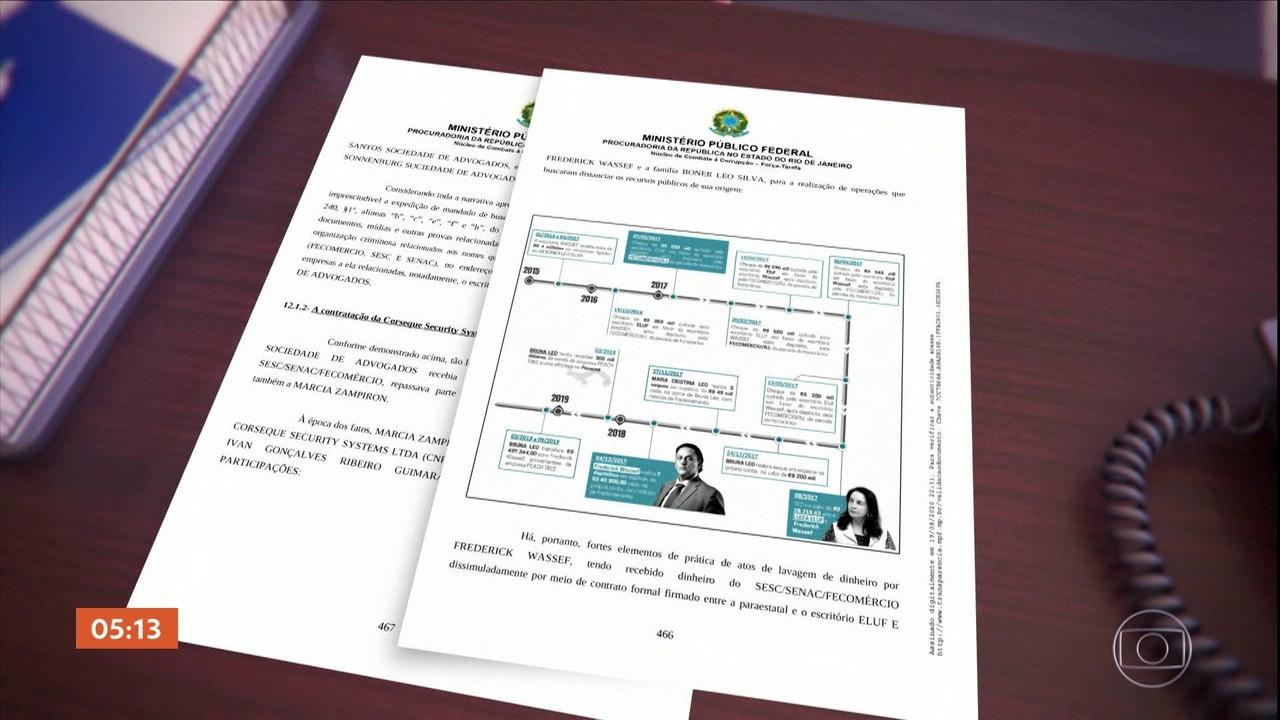 Advogados são suspeitos de envolvimento em esquema de desvios no Sesc e Senac-Rio