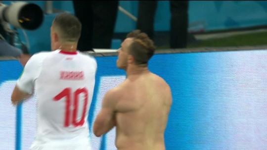 Suíça vence a Sérvia por 2 a 1, de virada; Brasil lidera grupo