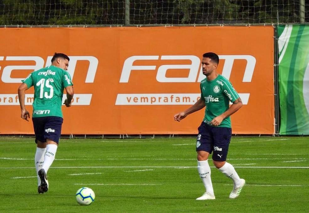Defesa que ningum passa com Gmez e Luan Palmeiras no sofre gol h mais de mil minutos  Foto Tossiro Neto