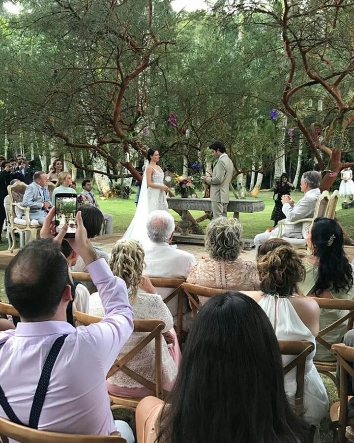 O casamento de Isis Valverde e André Resende (Foto: reprodução / Instagram)