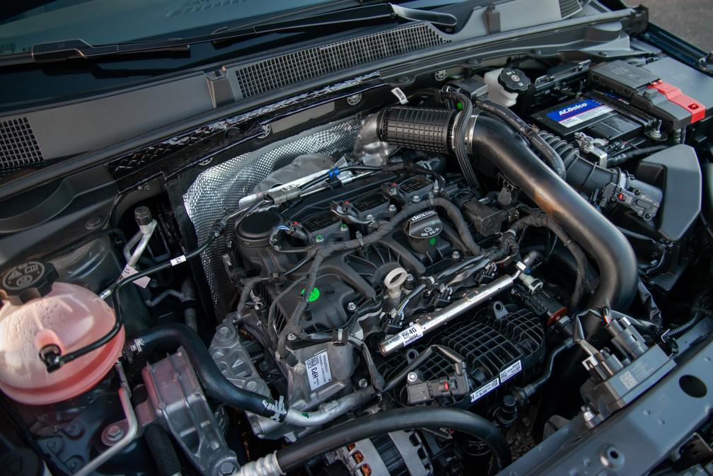 Novo motor 3 cilindros do Chevrolet Onix 2020 — Foto: Chevrolet/Divulgação