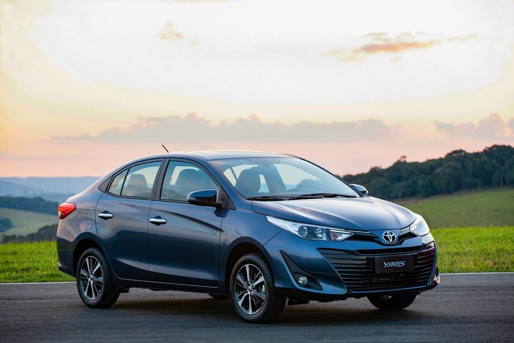 Toyota Yaris sedã (Foto: Toyota/Divulgação)
