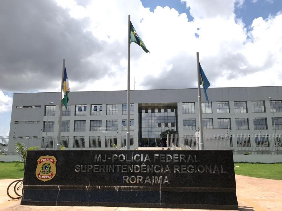 Polícia Federal em Roraima foi acionada pelo Ministério da Proteção Social guianês (Foto: Inaê Brandão/G1 RR)