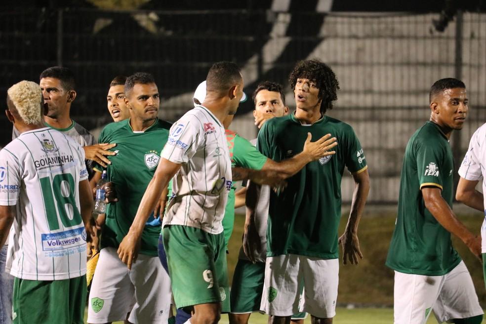 Clima de rivalidade promete agitar a decisão — Foto: Augusto César Gomes/GloboEsporte.com