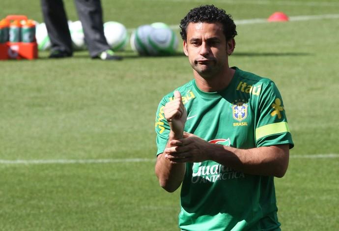 fred seleção brasileira treino suíça (Foto: Mowa Press)